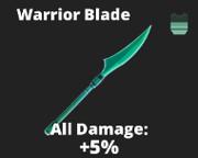 Warrior blade sword