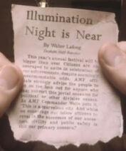 Tapjoint illumination night is near