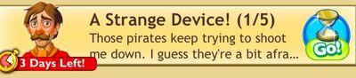 A strange device task