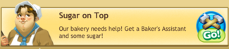 SugarOnTopQuest