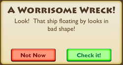 A Worrisome Wreck Intro 1