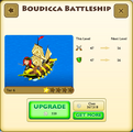 Boudicca Battleship Tier 6