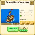 Rescue Drew's Cruiser Tier 1