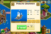 Pirate Crusher lv 6