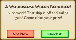 A Worrisome Wreck Epilogue 1