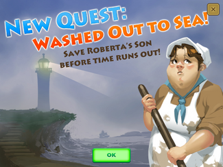 Quest Washed Out to Sea