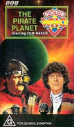 The Pirate Planet VHS Australian cover