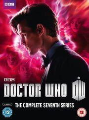 Doctor Who Complete Seventh Series UK DVD Cover
