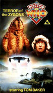 Terror of the Zygons VHS UK cover