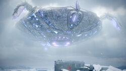 Ice Warrior ship Cold War