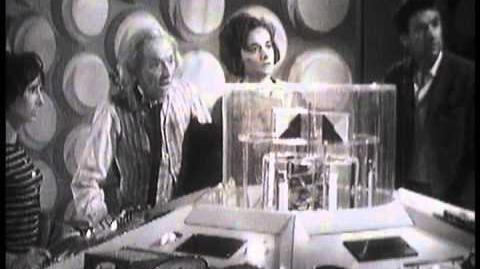 Tardis Getaway - Doctor Who An Unearthly Child - BBC