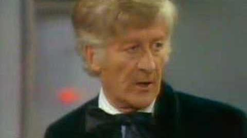 Monster professor - Doctor Who - BBC classic sci-fi