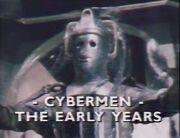 Cybermen The Early Years titlecard