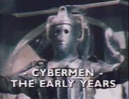 Cybermen The Early Years titlecard