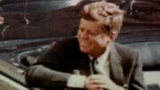 John F. Kennedy zoom in Rose