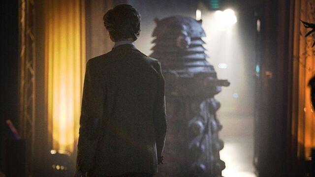 File:The Doctor Encountering The Stone Dalek.jpg