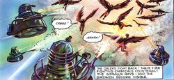 The Dalek World Invisible Invaders Daleks vs Birds