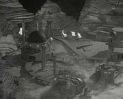 Dalek City destroyed