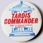 TARDIS Commander badge