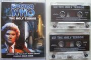 The Holy Terror cassette cover with cassettes