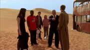 Trapped in the Desert - Doctor Who - Planet of the Dead - BBC