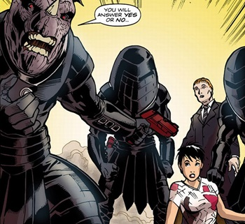 File:Judoon threaten Tegan.jpg