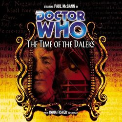 The Time of the Daleks cover