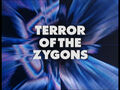 Terror of the Zygons - Title Card
