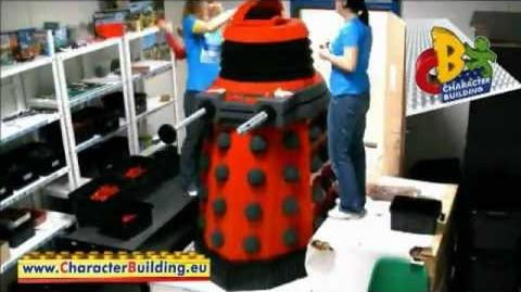 Character Building life-size Dalek