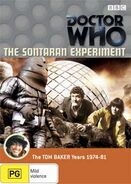 The Sontaran Experiment DVD R4 Australian cover