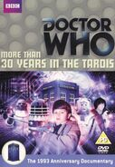 More Than 30 Years in the TARDIS DVD Cover