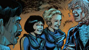 Sarah Jane and Liz diving suits Prisoners of Time