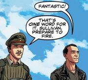 Brigadier and Ninth Doctor
