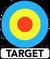 Target Books logo