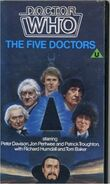 The Five Doctors UK VHS 1985 2