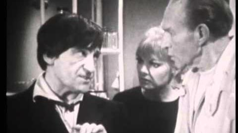 Don't Drink That - Doctor Who - The Moonbase - BBC