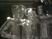 Original Cyberman with cyber-lider Revengecybermen