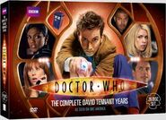 The Complete David Tennant Years Region 1 US DVD cover