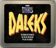 Daleks CD tin