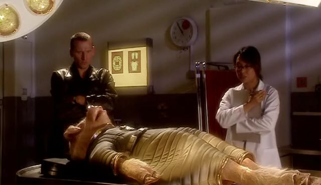 File:Ninth Doctor and Toshiko Sato with the Space Pig.jpg