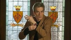 DOCTOR WHO Exclusive Inside Look at The Caretaker The Doctor Goes Undercover - BBC AMERICA