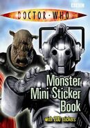 Mini Monster Sticker Book
