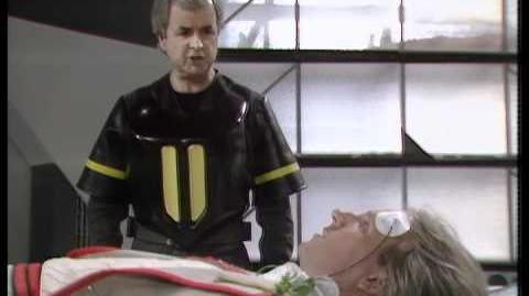 Tegan's escape? - Doctor Who Resurrection of the Daleks - BBC