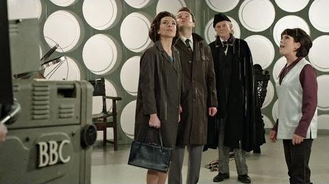 Behind the scenes of An Adventure in Space and Time - Doctor Who 50th Anniversary - BBC