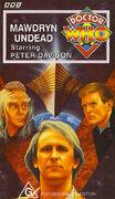Mawdryn Undead VHS Australian cover