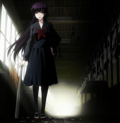 File:Yuuko with a baseball bat.jpg