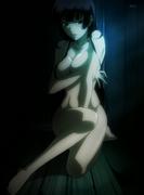 Yuuko sit wood floor