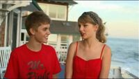 Justin whats his name and Taylor Swift on Punk'd