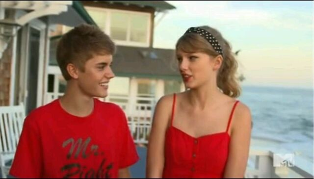 File:Justin whats his name and Taylor Swift on Punk'd.jpg