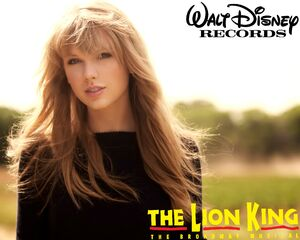 Taylor Swift in The Lion King